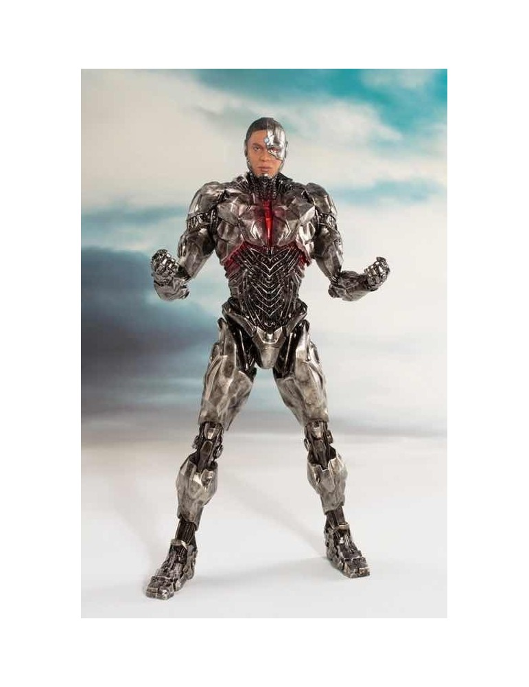 Estatua Justice League Movie Art Fx+ Cyborg 19,5 cm