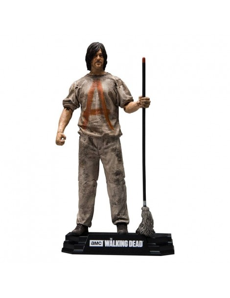 Figura The Walking Dead TV Version: Savior Prisoner Daryl 18 cm