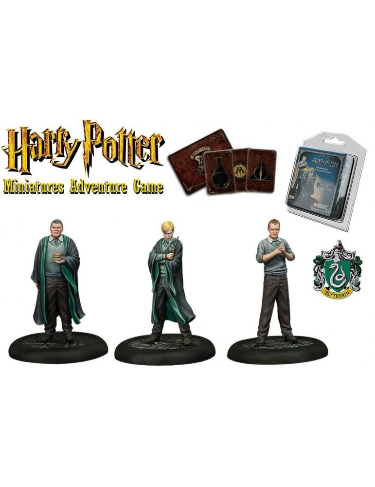 Harry Potter Miniatures Adventure Game: Estudiantes de Slytherin