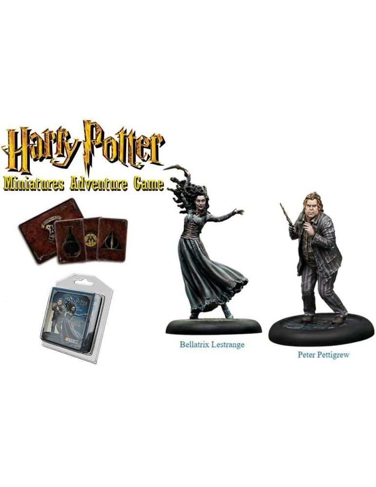 Harry Potter Miniatures Adventure Game: Bellatrix y Colagusano