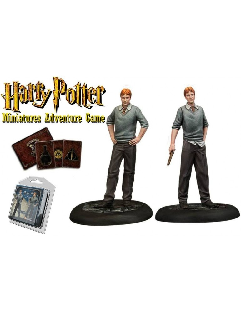 Harry Potter Miniatures Adventure Game: Fred y George Weasley