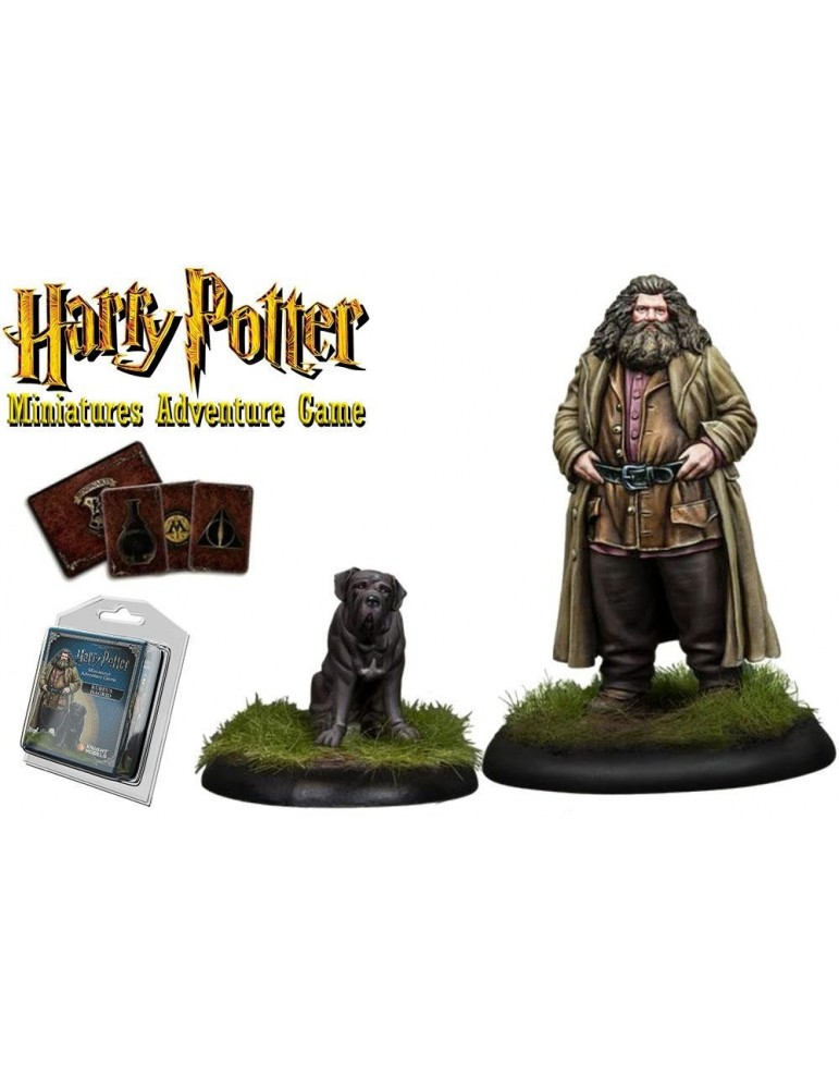 Harry Potter Miniatures Adventure Game: Rubeus Hagrid y Fang