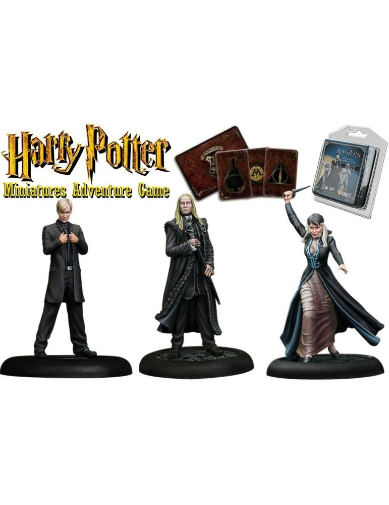 Harry Potter Miniatures Adventure Game: Familia Malfoy