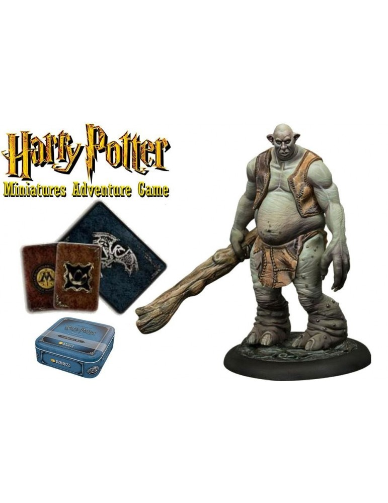 Harry Potter Miniatures Adventure Game: Pack de Aventuras Troll