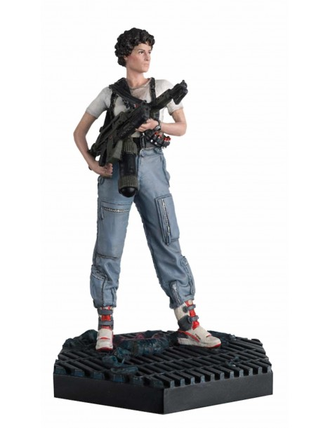 Figura Alien & Predator Figurine Collection 34 Aliens: Teniente Ripley 12 cm
