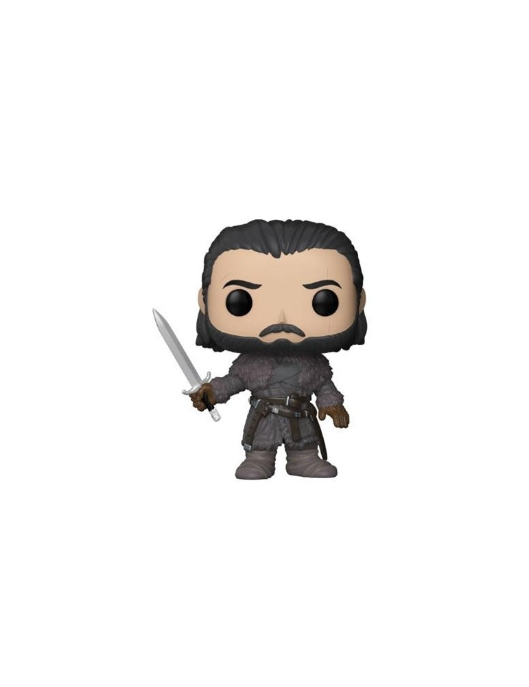 Figura POP Juego de Tronos: Jon Snow (Beyond the Wall) 9 cm