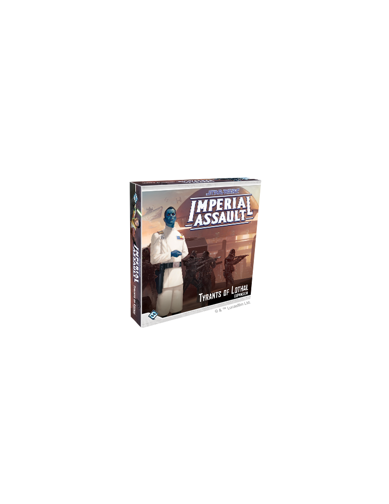 Star Wars: Imperial Assault - Tyrants of Lothal (Inglés)