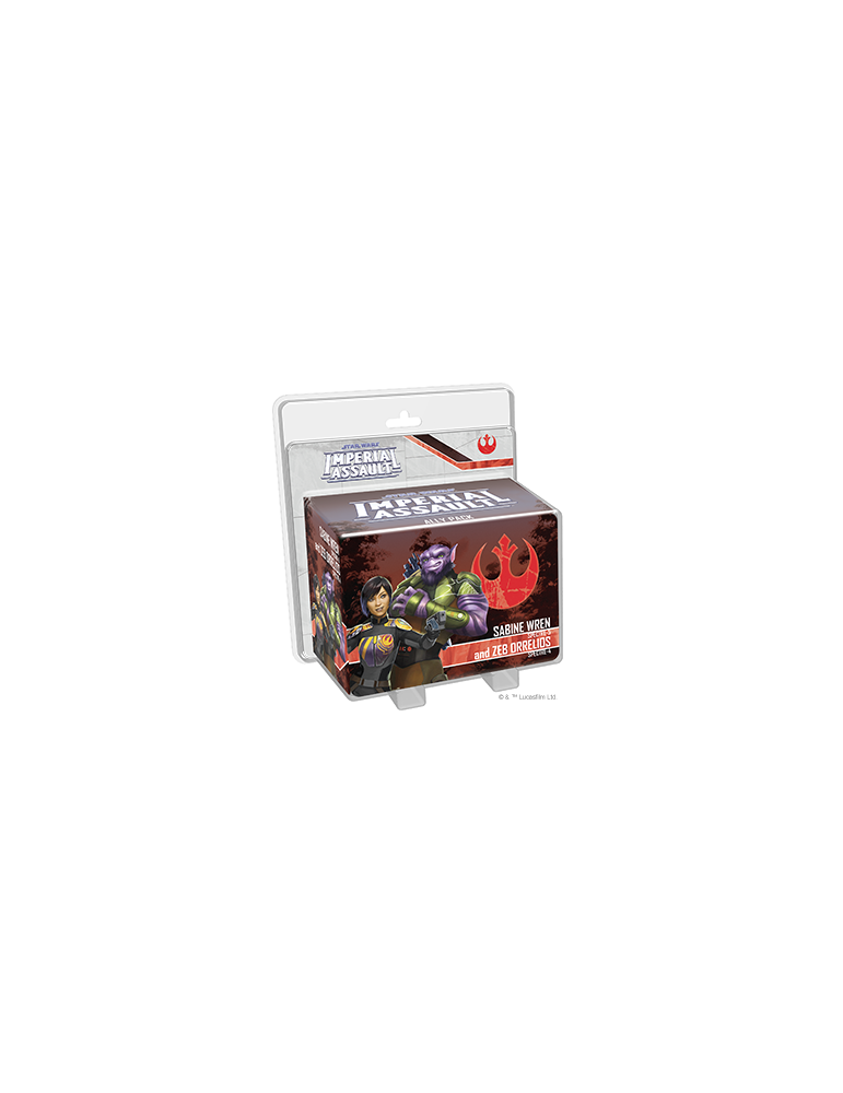 Star Wars: Imperial Assault - Sabine Wren and Zeb Orrelios Ally Pack (Inglés)