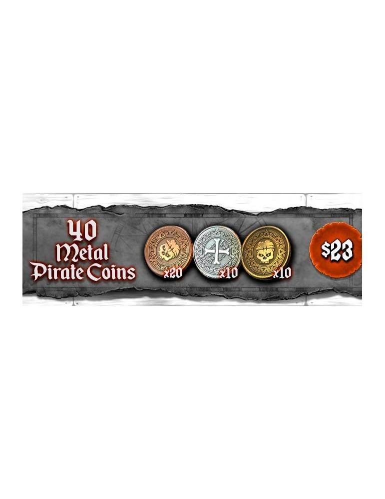 Skull Tales: ¡A toda vela! - Monedas de Metal