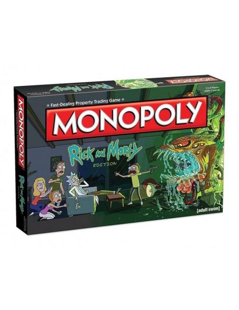 Monopoly  Rick y Morty (Inglés)