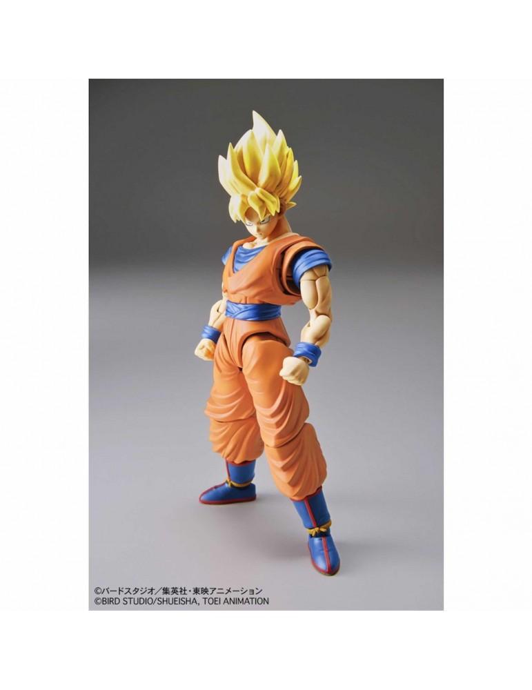 Figura Dragon Ball Z Figure-Rise Standard: Son Goku Super Saiyan Model Kit  16 cm