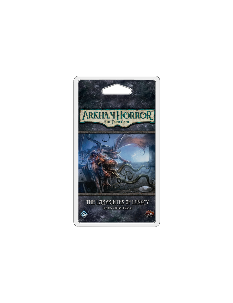Arkham Horror: The Card Game - The Labyrinths of Lunacy: Scenario Pack (Inglés)