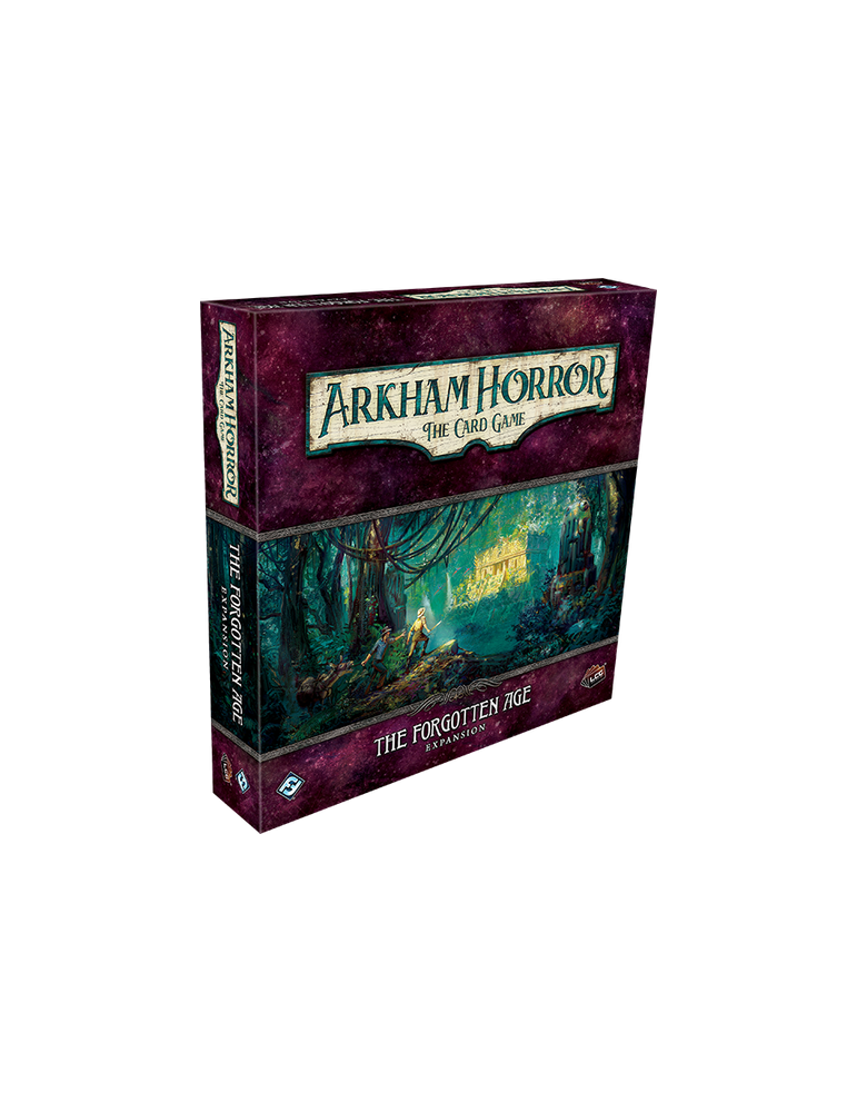 Arkham Horror: The Card Game - The Forgotten Age: Expansion (Inglés)