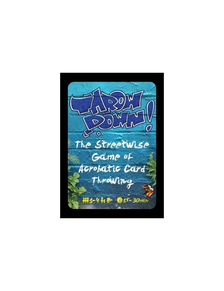 Throw Down! - Card Game: Blue