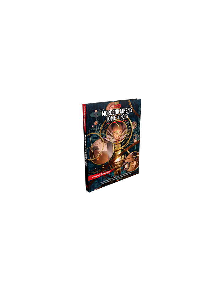 Dungeons & Dragons:  Mordenkainen's Tome of Foes (Inglés)