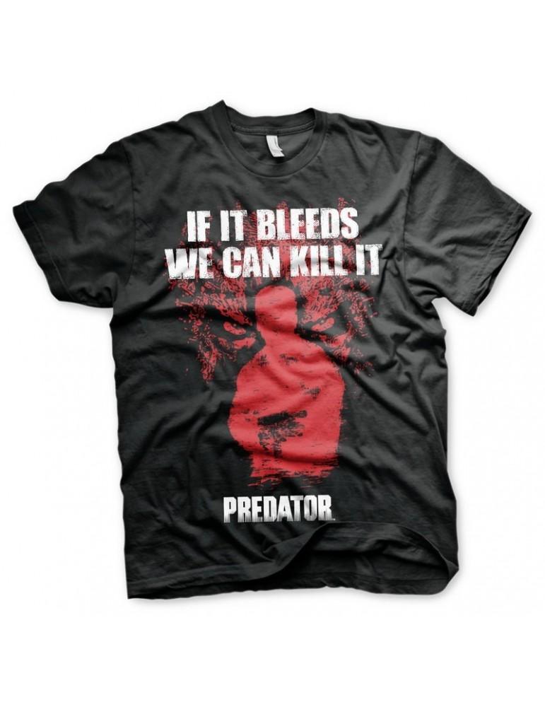 Camiseta Predator If it Bleeds