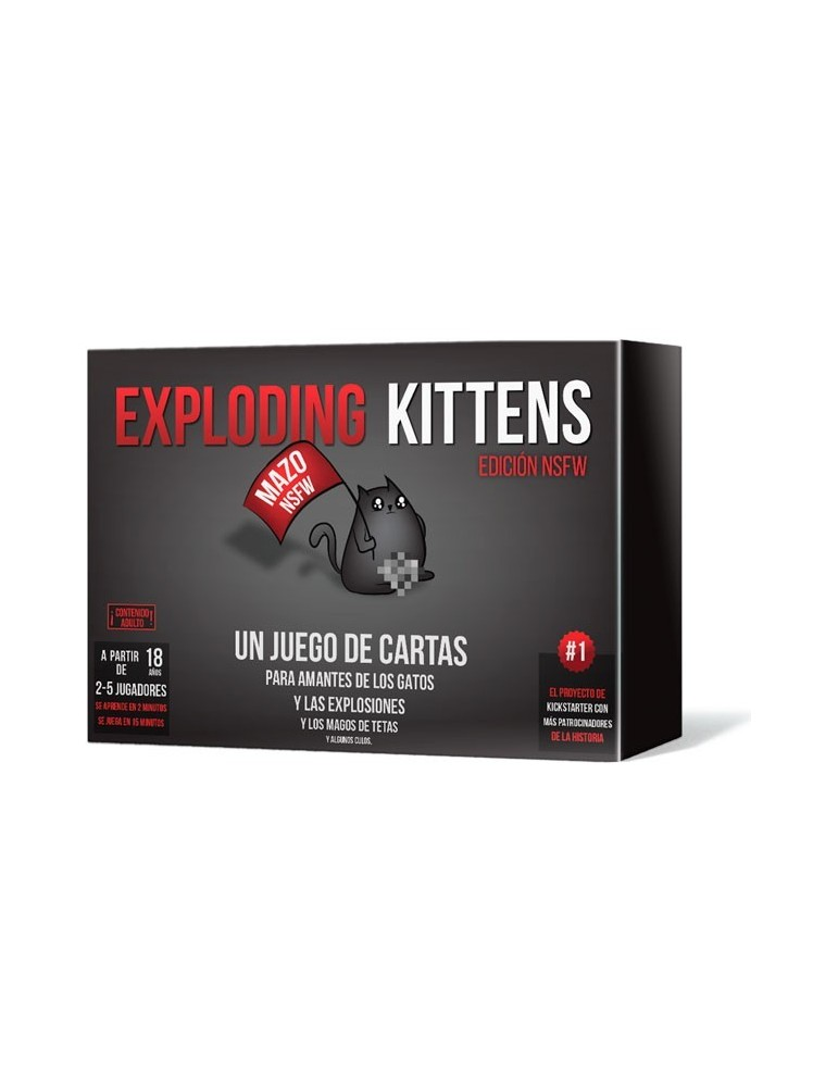 Exploding Kittens NSFW (Castellano)