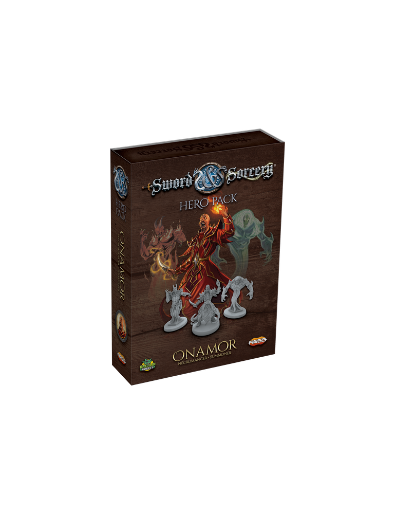 Sword & Sorcery: Hero Pack - Onamor the Necromancer/Summoner (Inglés)