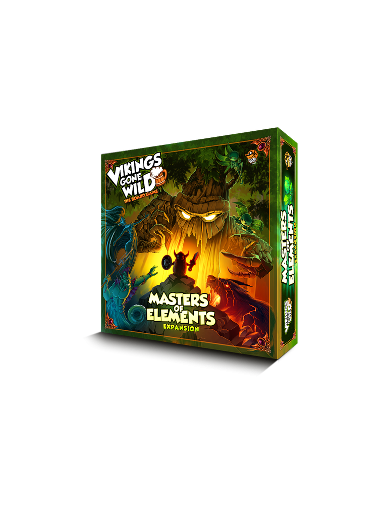 Vikings Gone Wild: Masters of Elements (Inglés)
