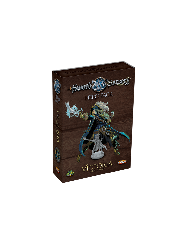 Sword & Sorcery: Hero Pack - Victoria the Captain/Pirate (Inglés)