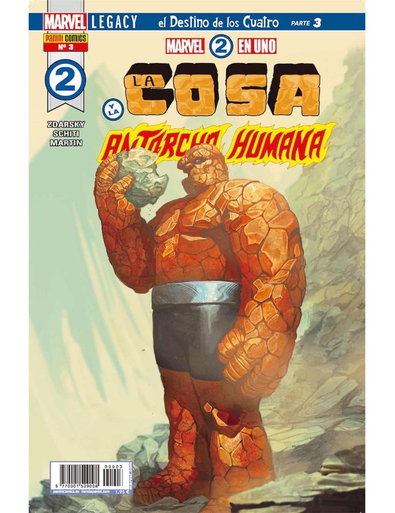 Marvel 2 En 1. La Cosa y Antorcha 03 (Portada Alternativa)