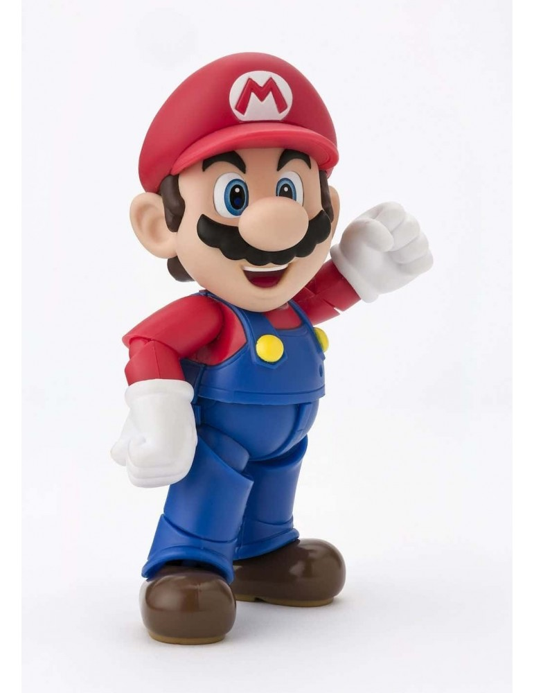 Figura Super Mario Bros Sh Figuarts: Super Mario Nuevo Packaging 10 cm