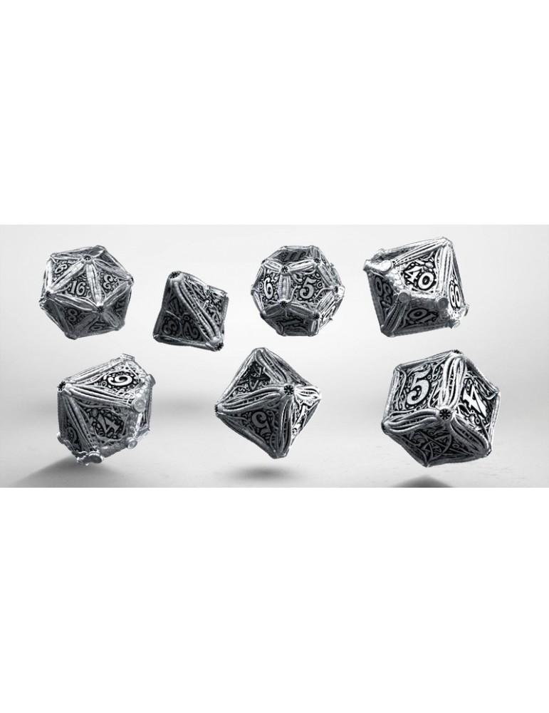 Set de Dados Call of Cthulhu Metal (7)