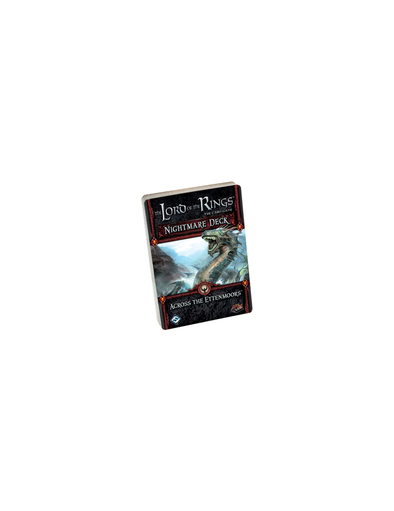The Lord of the Rings: The Card Game - Across the Ettenmoors Nightmare Deck (Inglés)