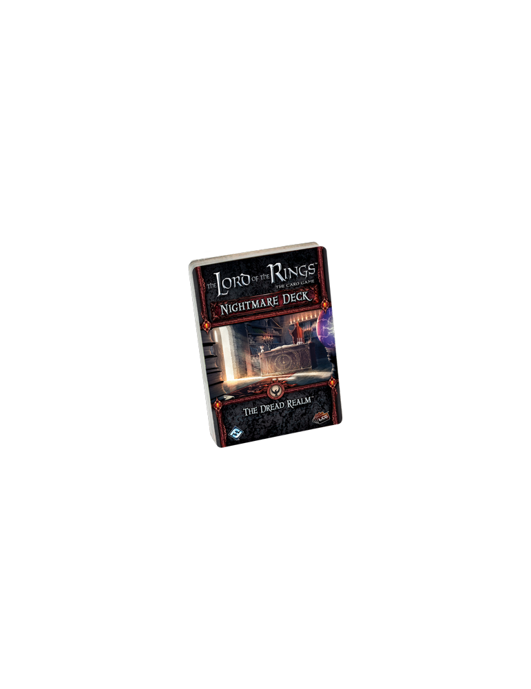 The Lord of the Rings: The Card Game - The Dread Realm Nightmare Deck (Inglés)