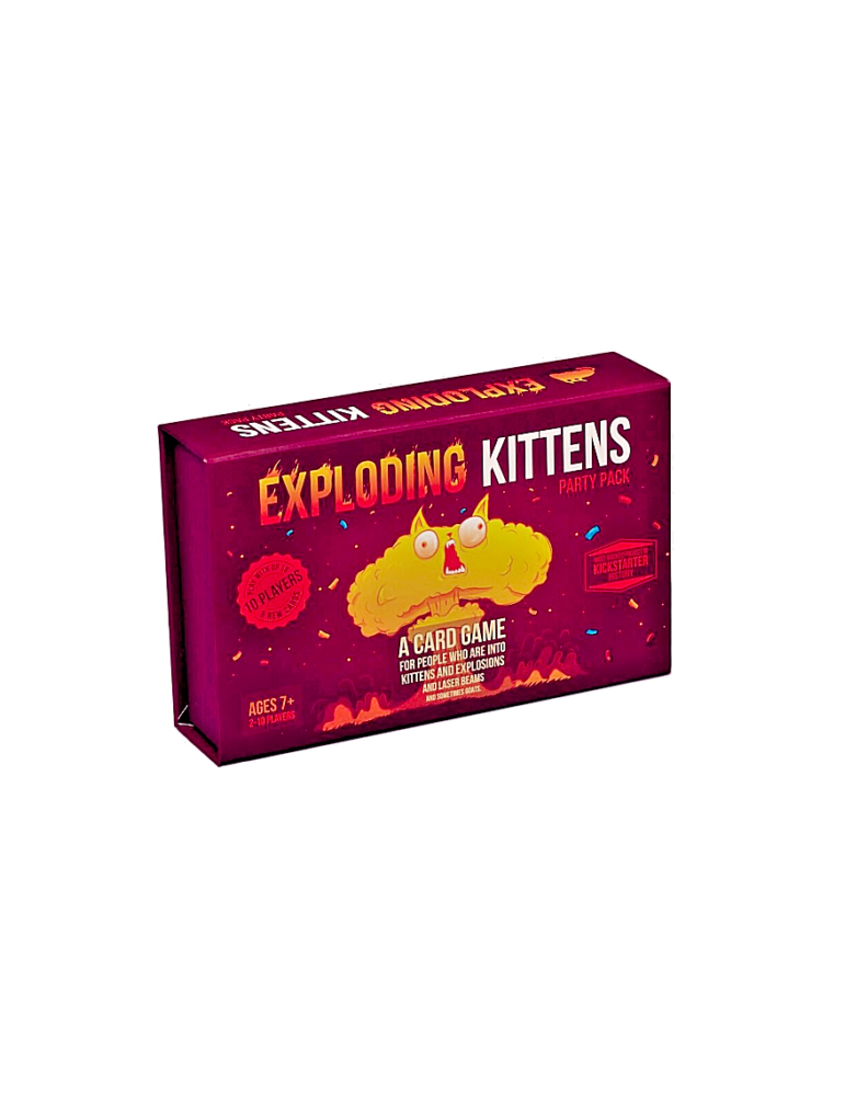 Exploding Kittens Party Pack Game (Inglés)