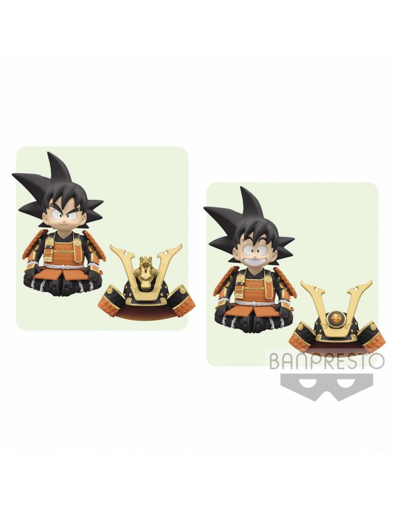 Figura Dragon Ball May Doll: Goku Niño Samurai 12 cm
