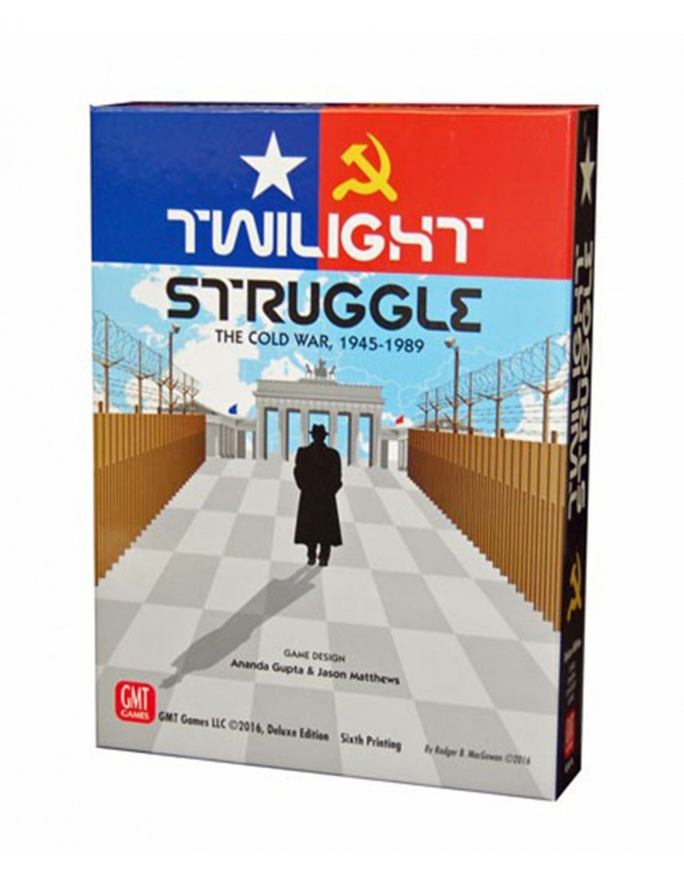 Twilight Struggle Deluxe New Edition (Inglés)