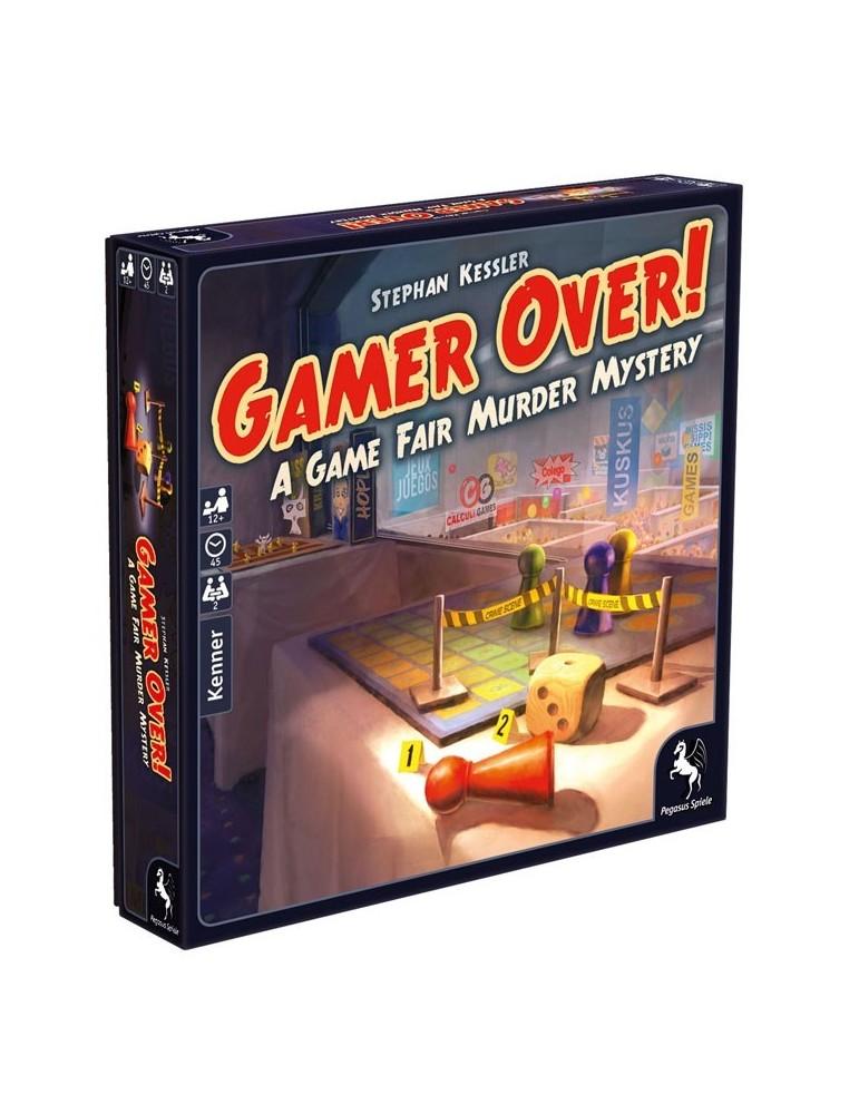 Gamer Over! A Game Fair Murder Mystery