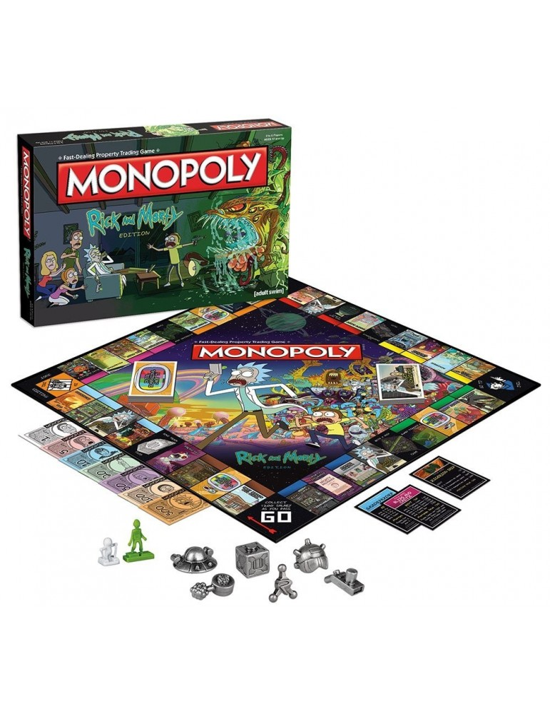 Monopoly Edición Rick and Morty (Castellano)