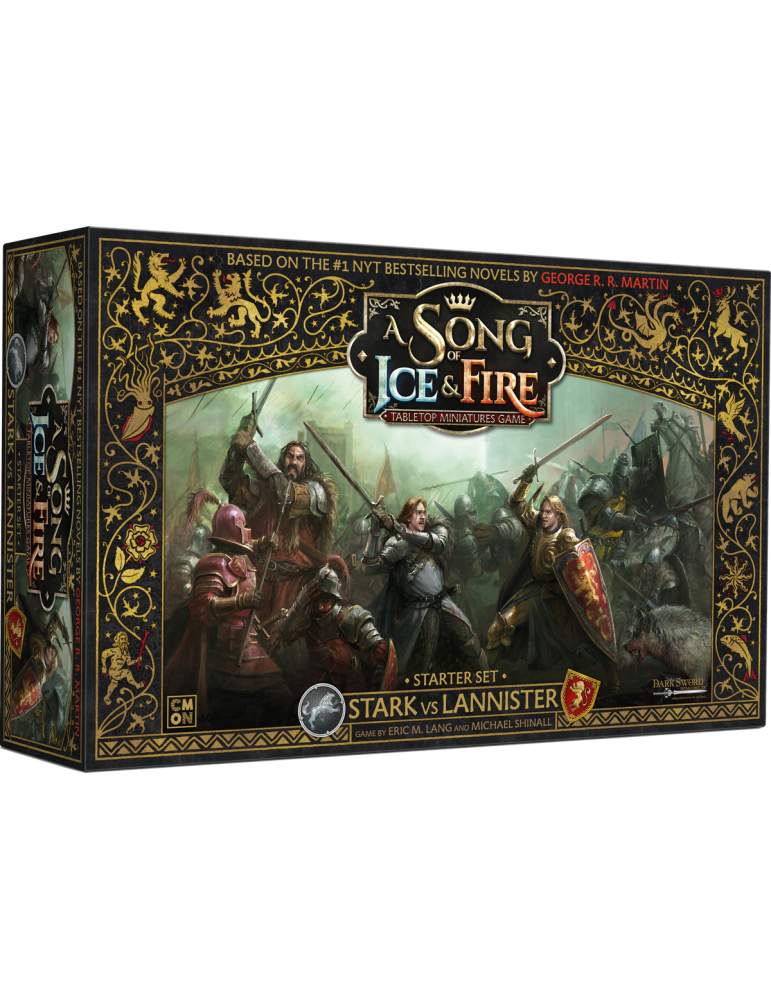 A Song of Ice & Fire: Tabletop Miniatures Game - Stark vs Lannister Starter Set (Inglés)