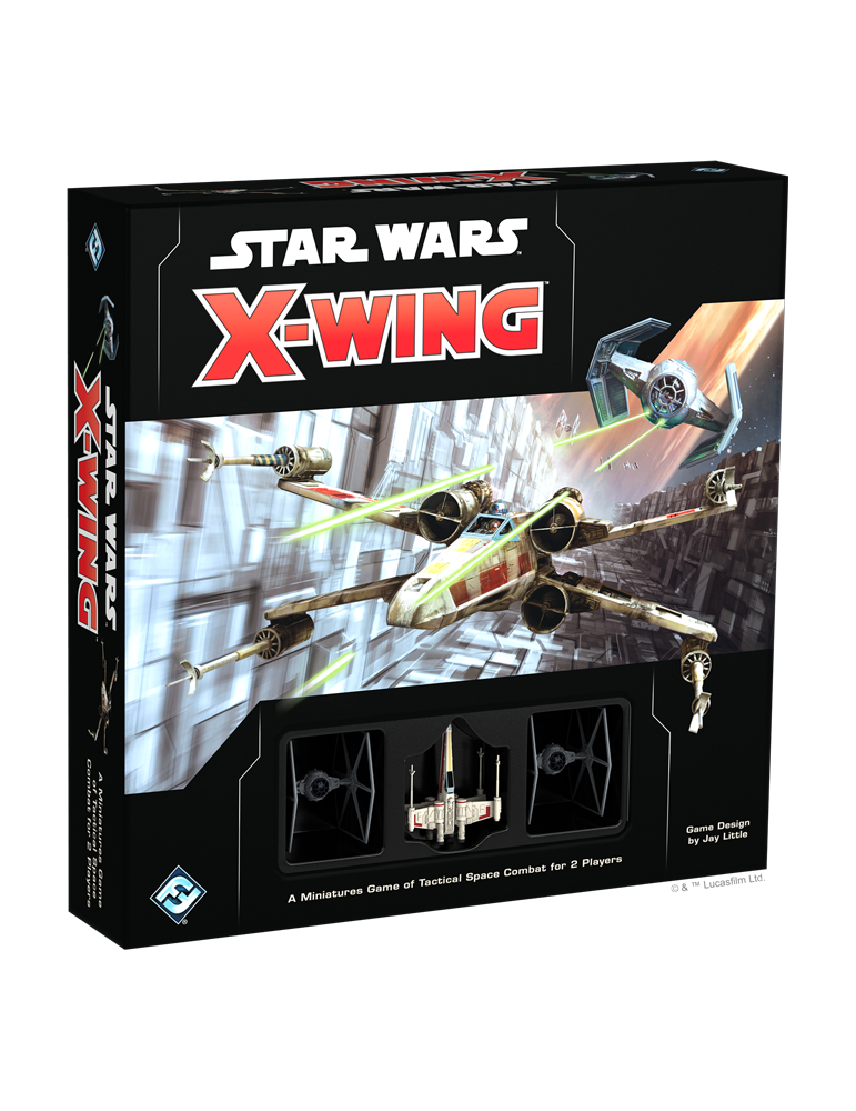 Star Wars X-Wing Core Set Second Edition (Inglés)