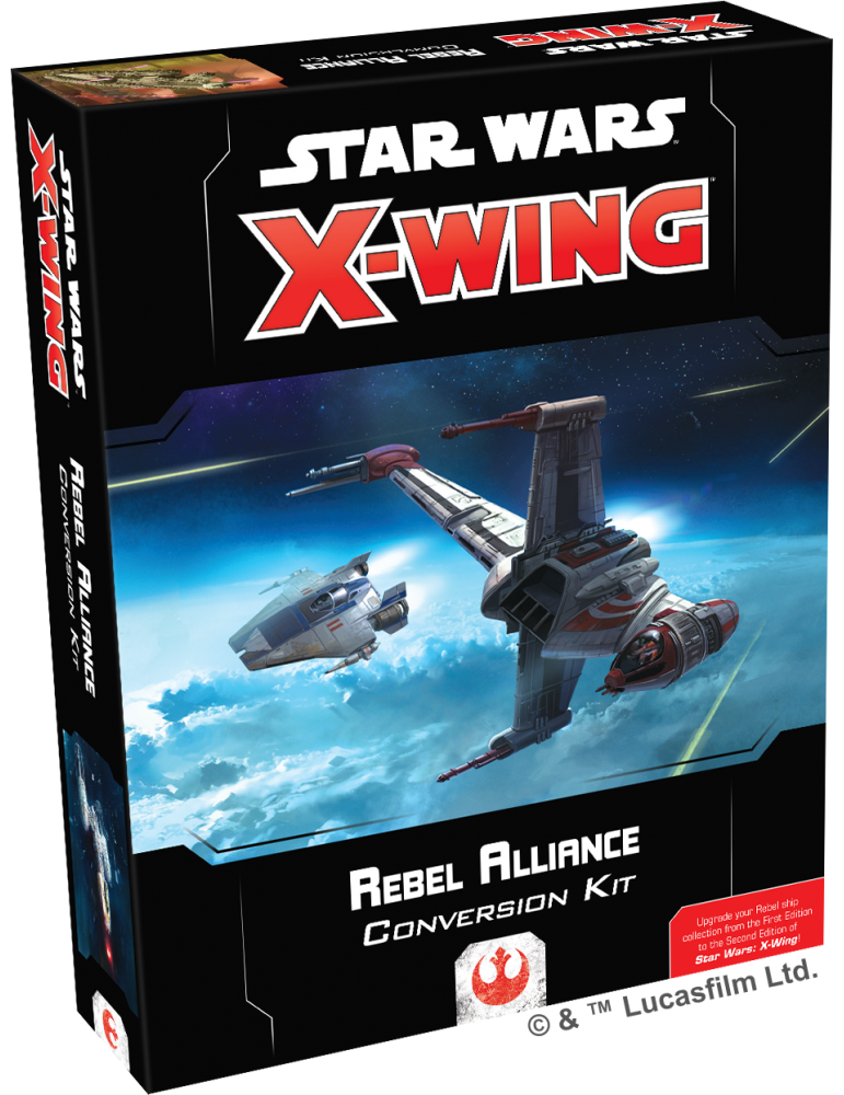 Star Wars: X-Wing (Second Edition) - Rebel Alliance Conversion Kit (Inglés)