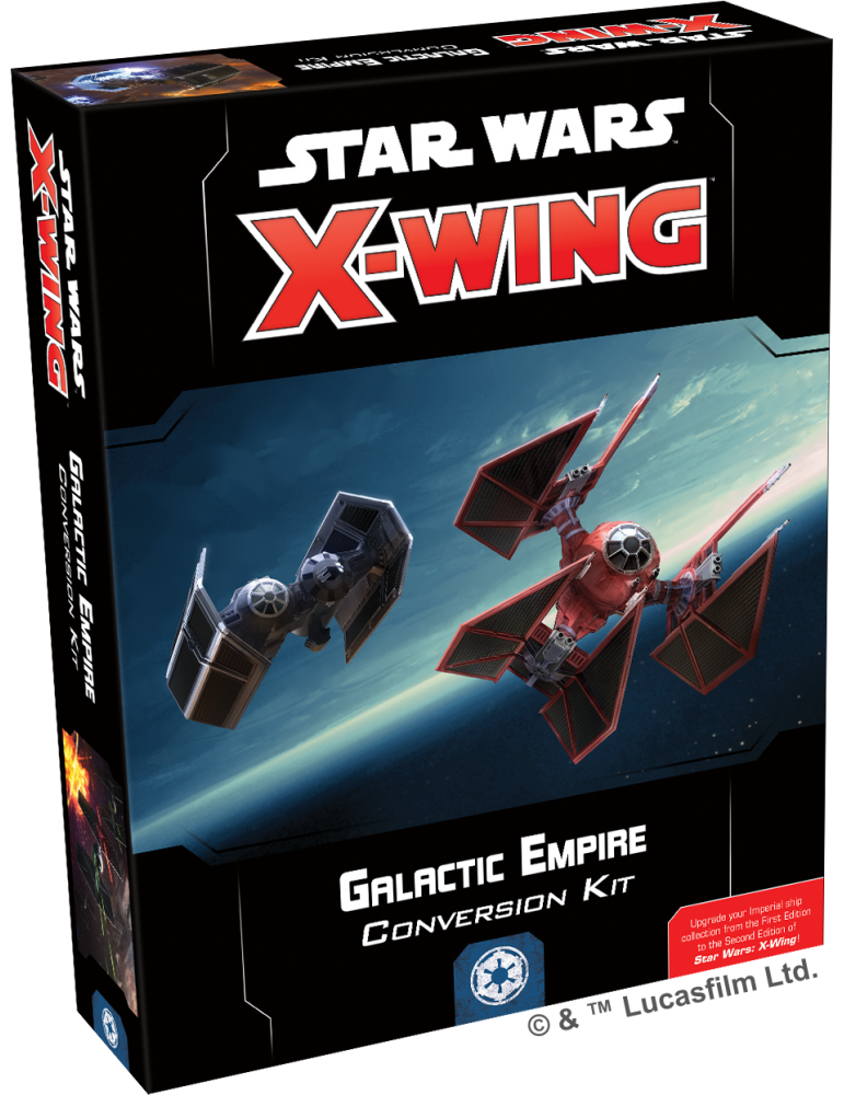 Star Wars: X-Wing (Second Edition) - Galactic Empire Conversion Kit (Inglés)