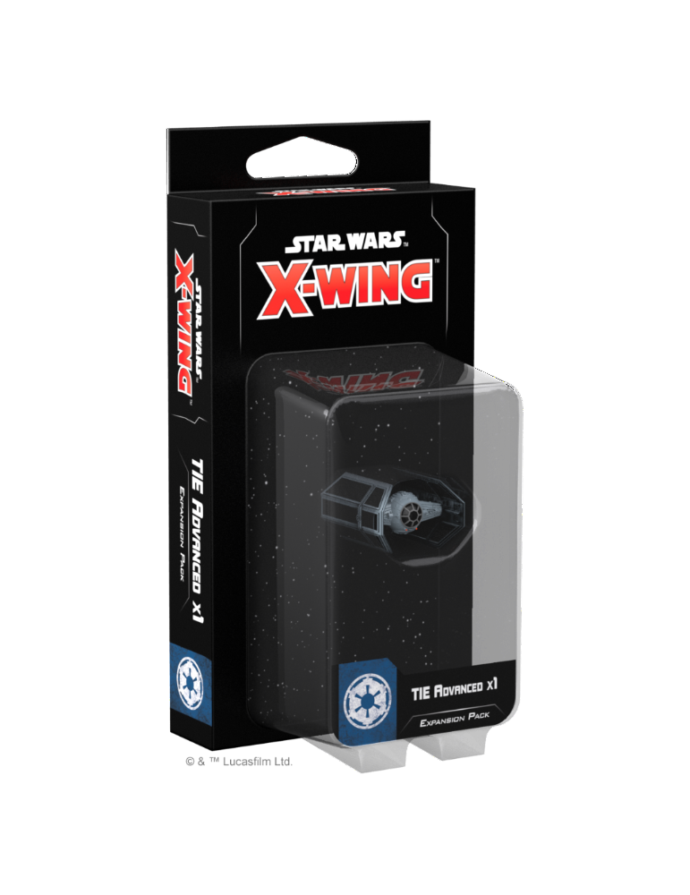 Star Wars X-Wing: TIE Advanced x1 Expansion Pack (Inglés)
