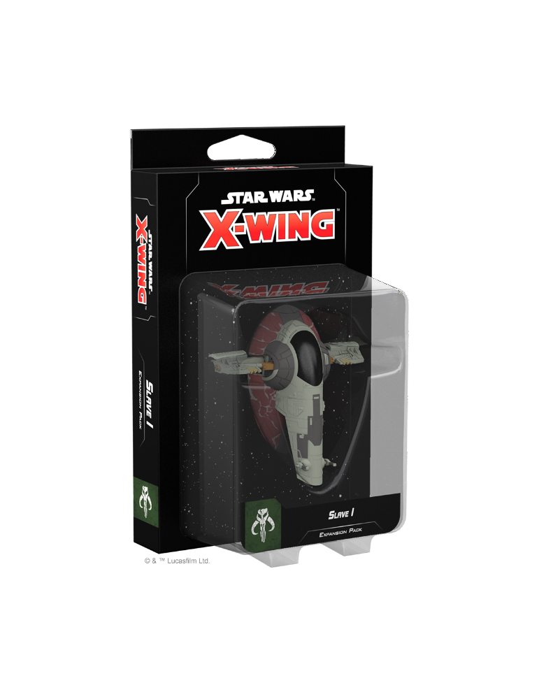 Star Wars X-Wing : Slave I Expansion Pack (Inglés)