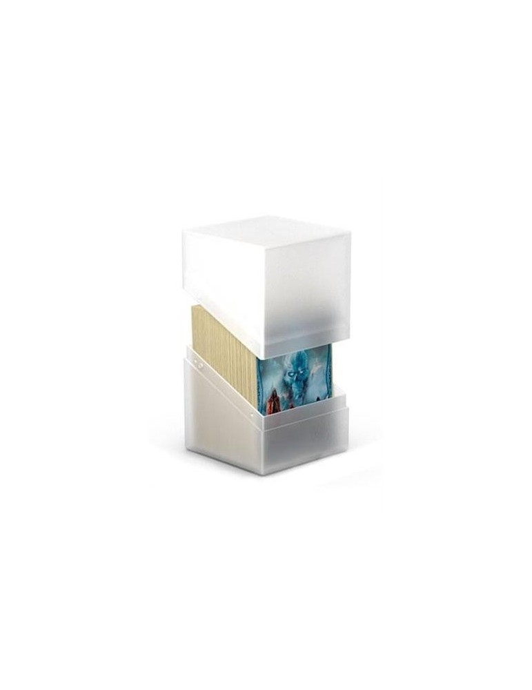 Caja de Cartas Ultimate Guard Boulder Deck Case 100+ Tamaño Estándar Frosted