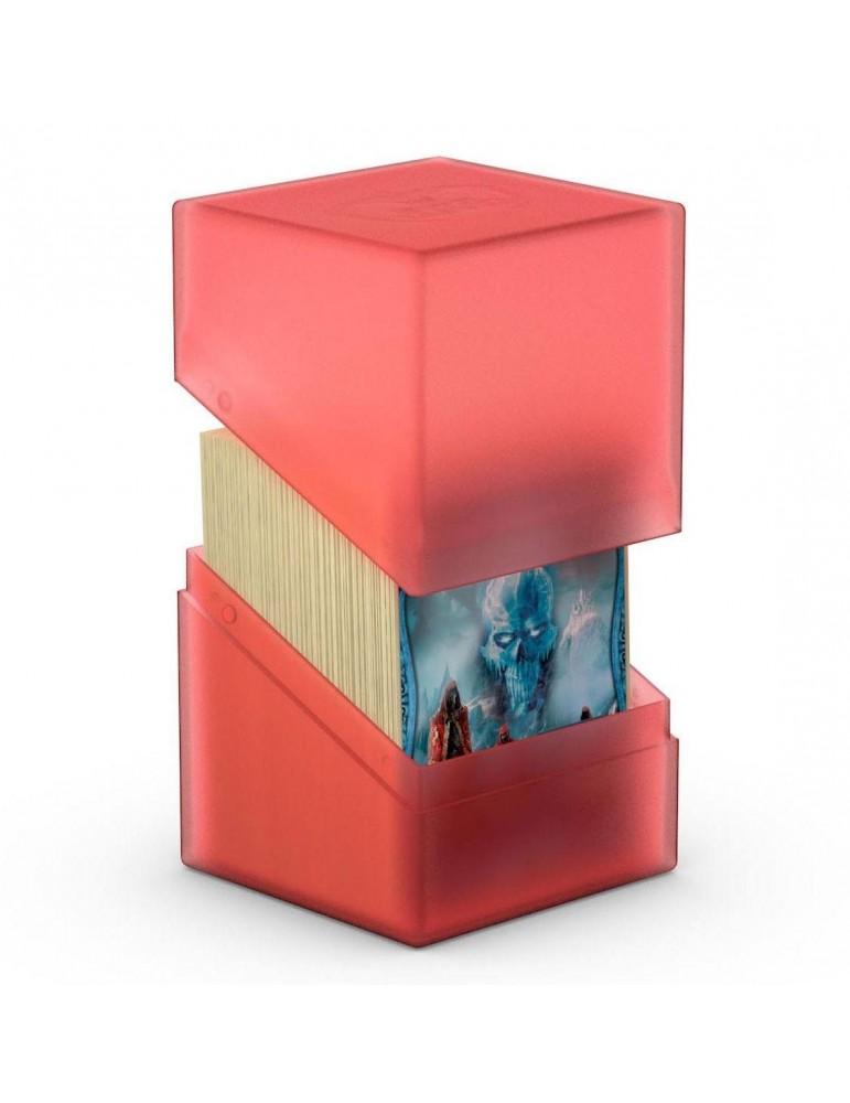 Caja de Cartas Ultimate Guard Boulder Deck Case 100+ Tamaño Estándar Ruby