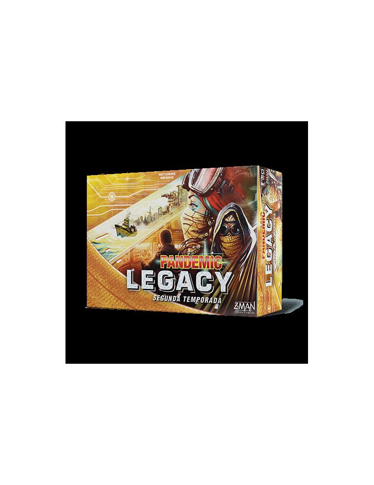Pandemic Legacy: Segunda Temporada - Caja Amarilla