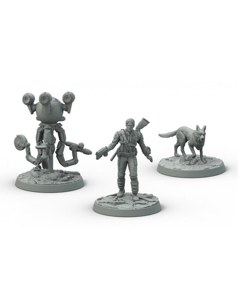 Fallout: Wasteland Warfare - Survivors Sanctuary Hills (Inglés)
