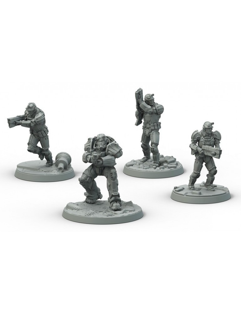 Fallout: Wasteland Warfare - Brotherhood of Steel Frontline Knights (Inglés)