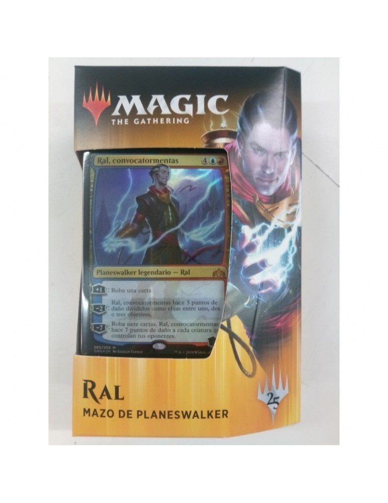 Magic the Gathering: Gremios de Rávnica - Mazo de Planeswalker Ral
