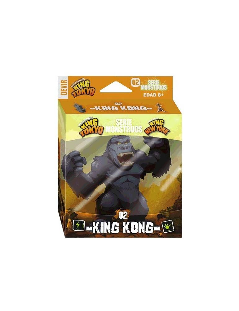 King of Tokyo / King of New York: Serie Monstruos 02 - King Kong (Castellano)