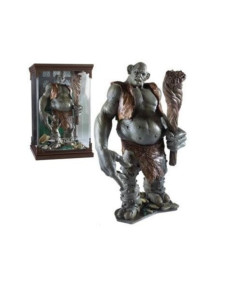 Estatua Harry Potter Magical Creatures Troll 13 cm