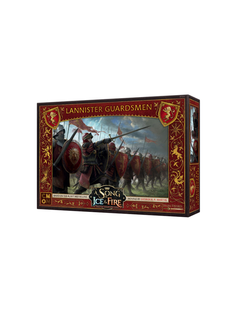 Canción de Hielo y Fuego - El juego de miniaturas: Guardias Lannister