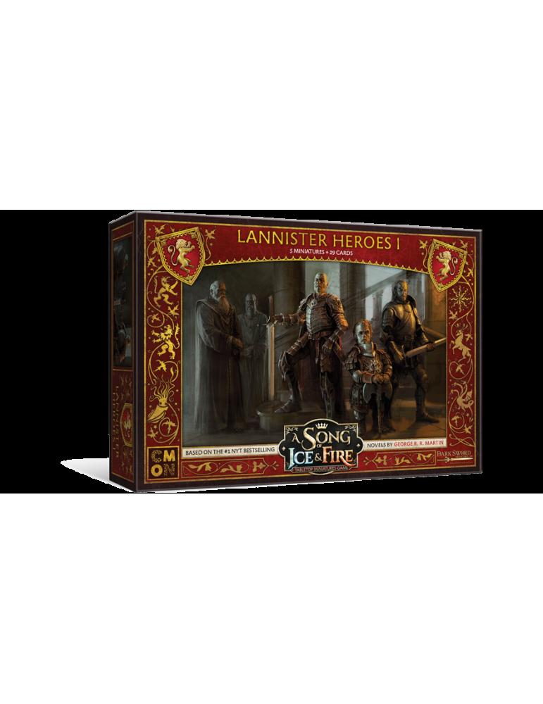 Canción de Hielo y Fuego - El juego de miniaturas: Héroes Lannister I